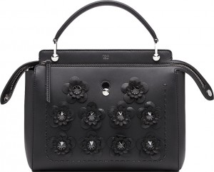 Fendi-Black-Flower-Capsule-Bag-Collection
