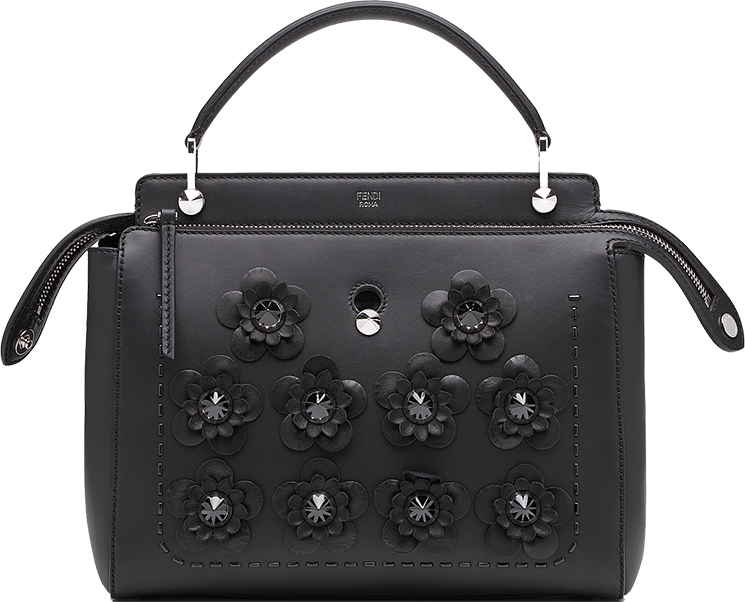 eab3346f7d Reviewing On The Sophisticated Fendi Black Flowerland Capsule ...