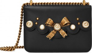 Gucci-Leather-Bow-and-Pearl-Bag