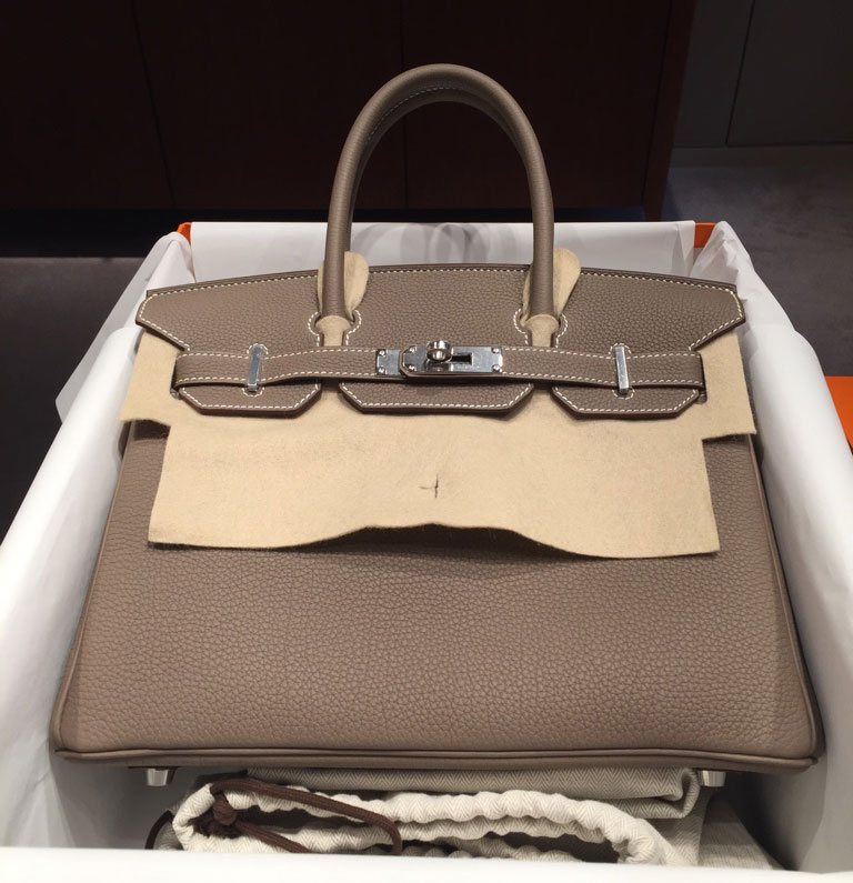48b2f162a9 And that wasn't just true of longtime Hermès clients, either; one tPFer,  Mrs.santio, scored a 30cm Birkin in the popular etoupe color despite never  having ...
